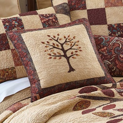 Autumn Tree of Life Pillow by Donna Sharp