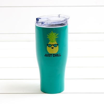 Just Chill 30 oz Double Wall Tumbler