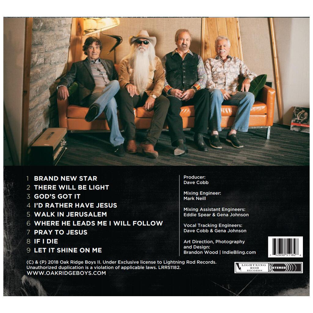 The Oak Ridge Boys - 17th Avenue Revival CD - Cracker Barrel Old ...