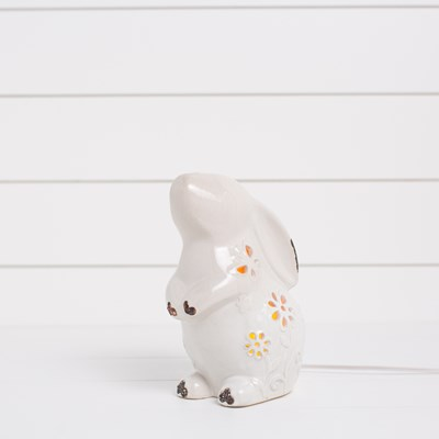 Ceramic Bunny Accent Light
