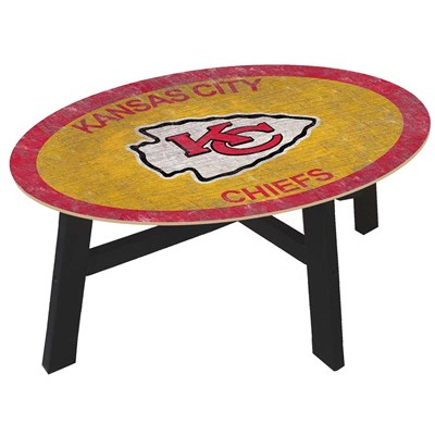 Kansas City Chiefs - Team Color Coffee Table