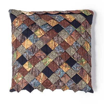 Two Bears Rooftile Decorative Pillow by Donna Sharp
