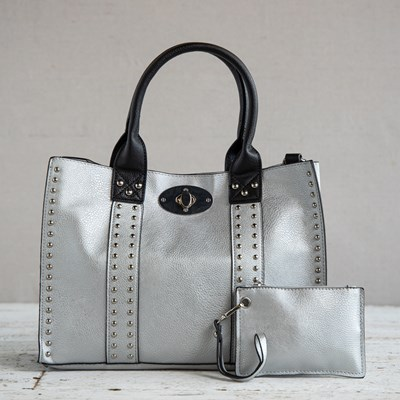 Silver 3-in-1 Bag