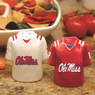 Jersey Salt & Pepper Shaker Set - Ole Miss