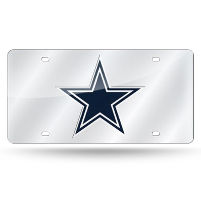 Dallas Cowboys Laser License Plate