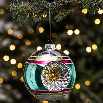 Shatterproof Reflector Ball Ornament