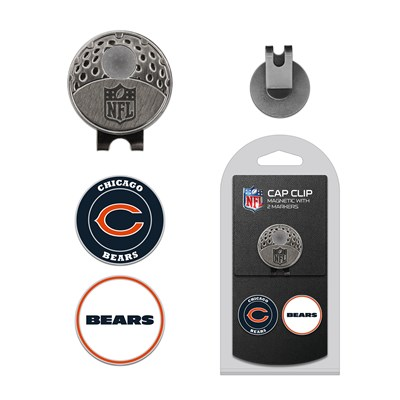 Golf Cap Clip Set - Chicago Bears