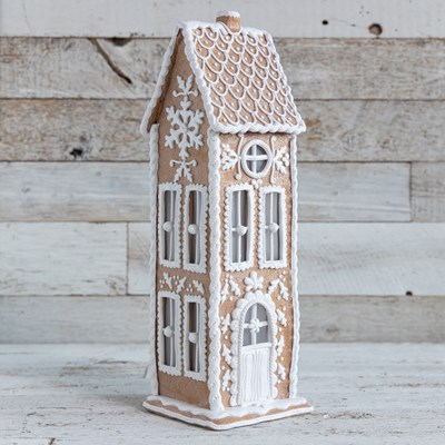 Oh Gussie! Claydough Gingerbread House Accent Light