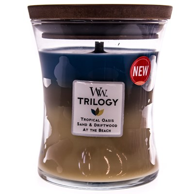 WoodWick ® Nautical Escape Trilogy Candle
