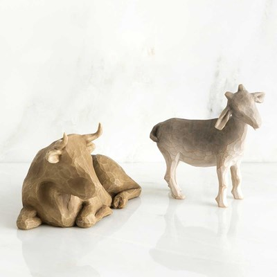 Willow Tree ® Ox and Goat Figurines