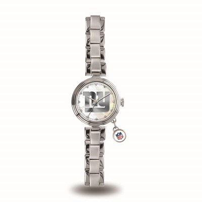 New York Giants Ladies Charm Watch
