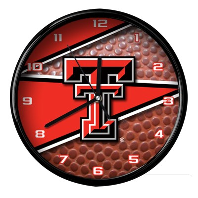 Texas Tech - Football Clock