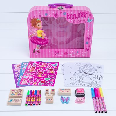 Fancy Nancy Art and Stamp Carry Case