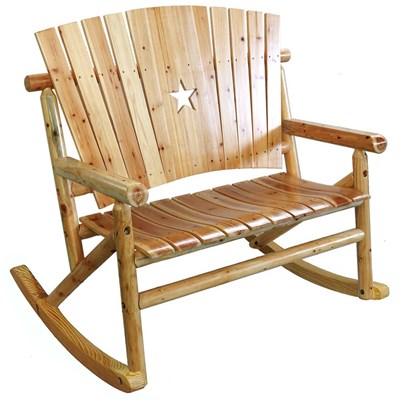 Aspen Wooden Star Double Rocker