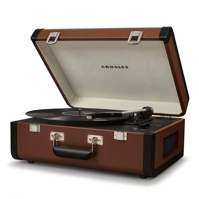 Crosley ® Portfolio Portable Bluetooth Record Player - Brown