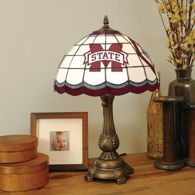 Tiffany Table Lamp - Mississippi State