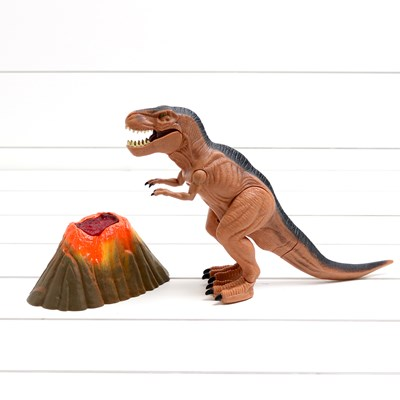 Volcano and T-Rex