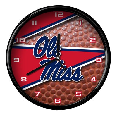Ole Miss - Football Clock