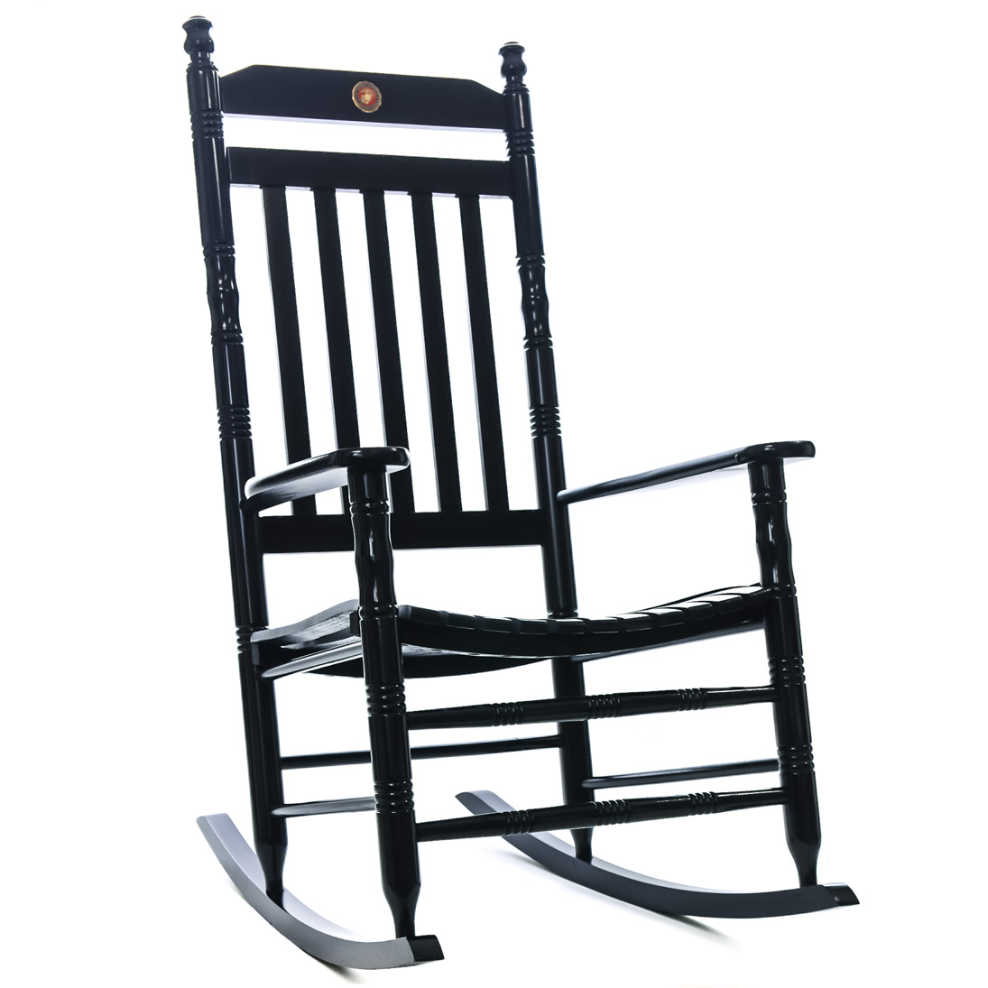 U.S. Marine Corps Fully Assembled Rocking Chair | Military | Rocking Chairs    Cracker Barrel Old Country Store