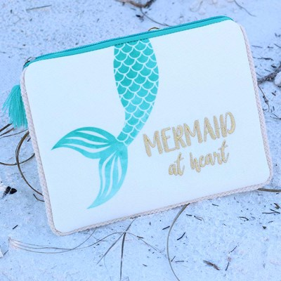 """Mermaid at Heart"" Pouch"