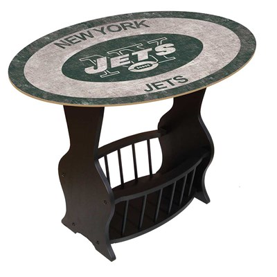 New York Jets - Team Color End Table