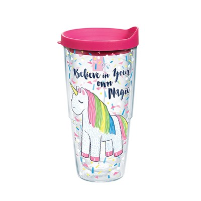 """Unicorn Magic"" 24 Oz. Tumbler"