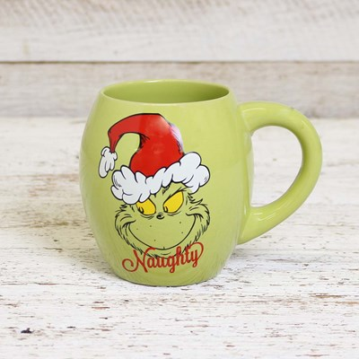 Naughty with Nice Grinch Mug