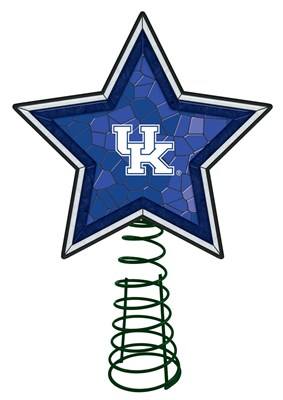 Kentucky Mosaic Tree Topper
