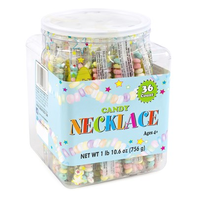 Candy Necklaces Tub - 36 Count