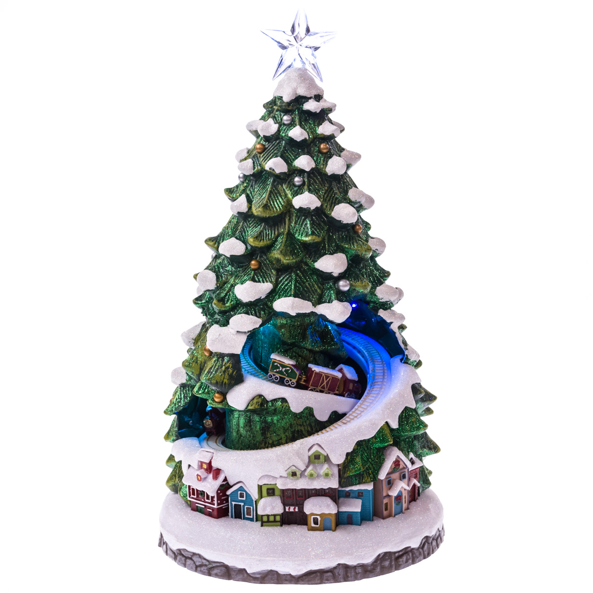 led village christmas tree scene collections traditional christmas cracker barrel old country store - Cracker Barrel Store Christmas Decorations