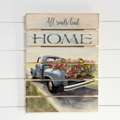 All Roads Lead Home Wall Decor