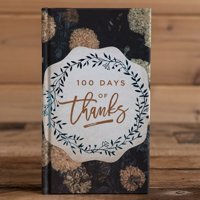 100 Days of Thanks Devotional Book