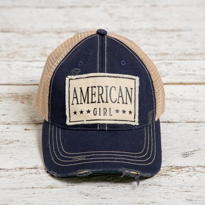 American Girl Baseball Hat