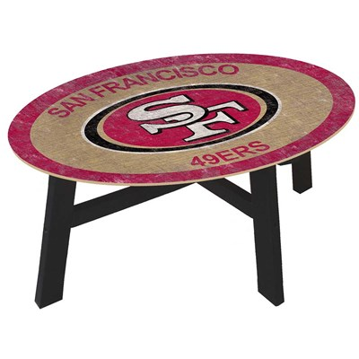 San Francisco 49ers - Team Color Coffee Table