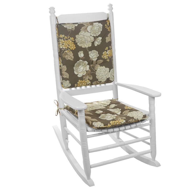 Vivienne Fl Tufted Rocker Cushion Set 0