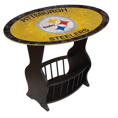 Pittsburgh Steelers - Team Color End Table