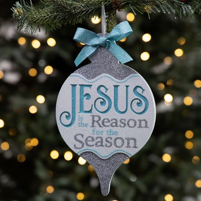 """Jesus is The Reason"" Ornament"