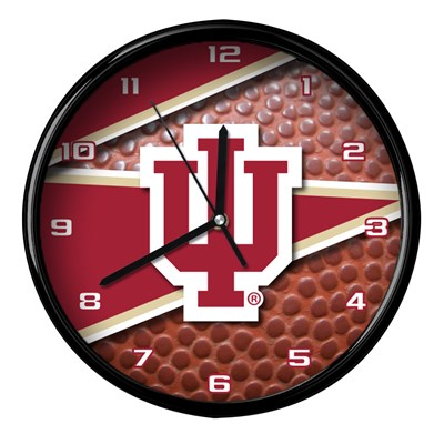 Indiana - Football Clock