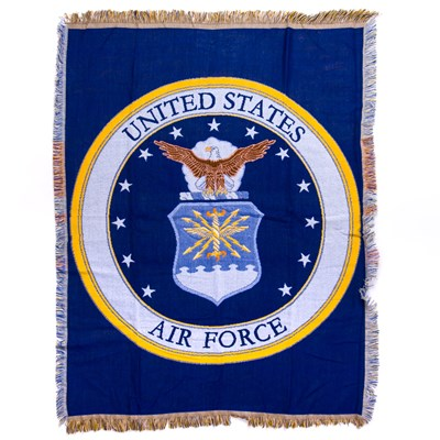 U.S. Air Force Woven Throw Blanket