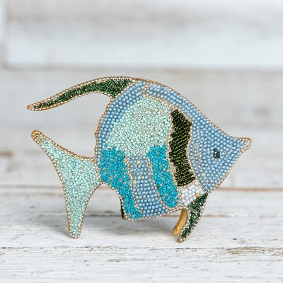 Mosaic Beaded Fish - Small