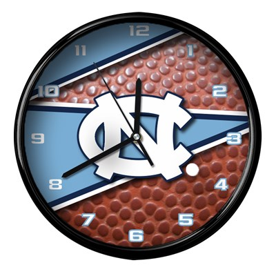 North Carolina - Football Clock