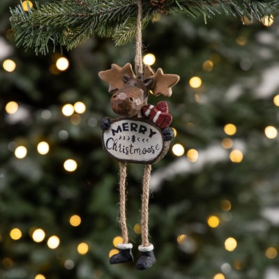 """Merry Christmoose"" Ornament"
