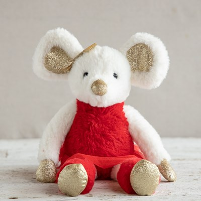Christmas Mouse Plush