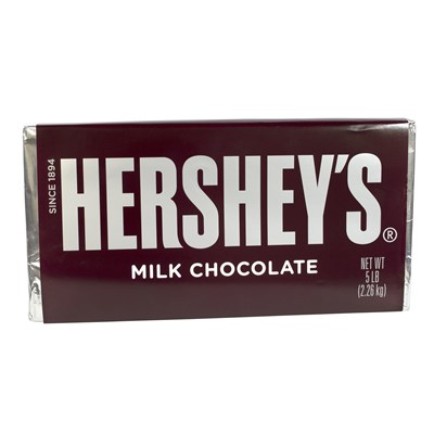 Giant Hershey's Milk Chocolate Bar - 5lbs.