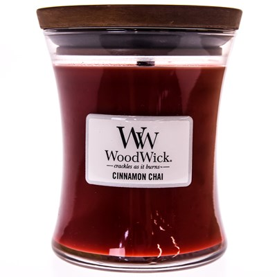WoodWick ® Cinnamon Chai Medium Candle