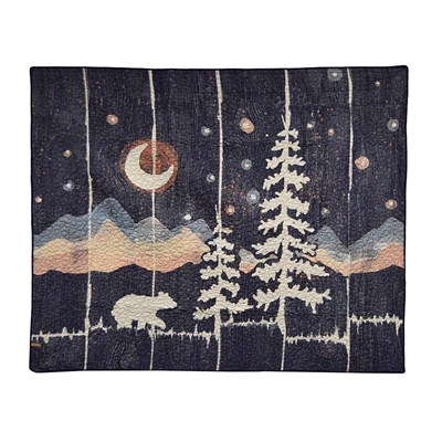 Moonlit Bear Throw by Donna Sharp