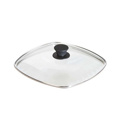 "Lodge ® 10.5"" Square Tempered Glass Lid"