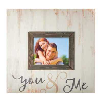 """You and Me"" Photo Frame"