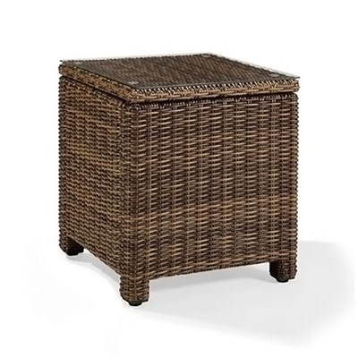 Bradenton Wicker Side Table