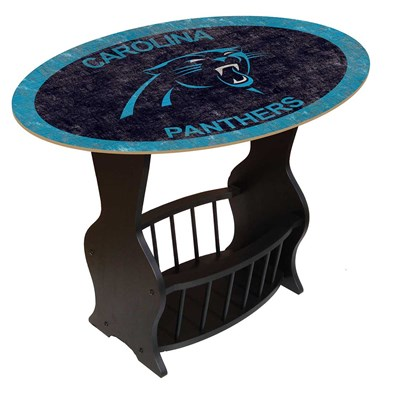 Carolina Panthers - Team Color End Table